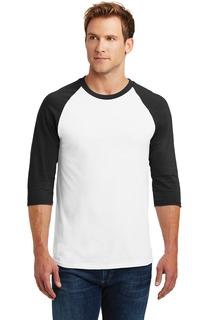 Gildan® Heavy Cotton™ 3/4-Sleeve Raglan T-Shirt.-Promotional