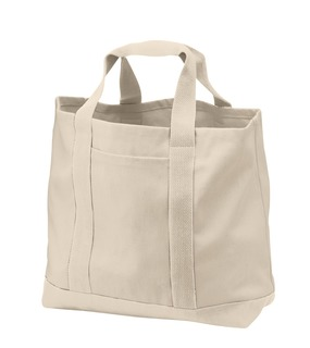 Port Authority® - Two-Tone Shopping Tote.-Promotional