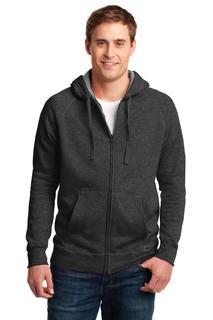 Hanes® Nano Full-Zip Hooded Sweatshirt.-Promotional