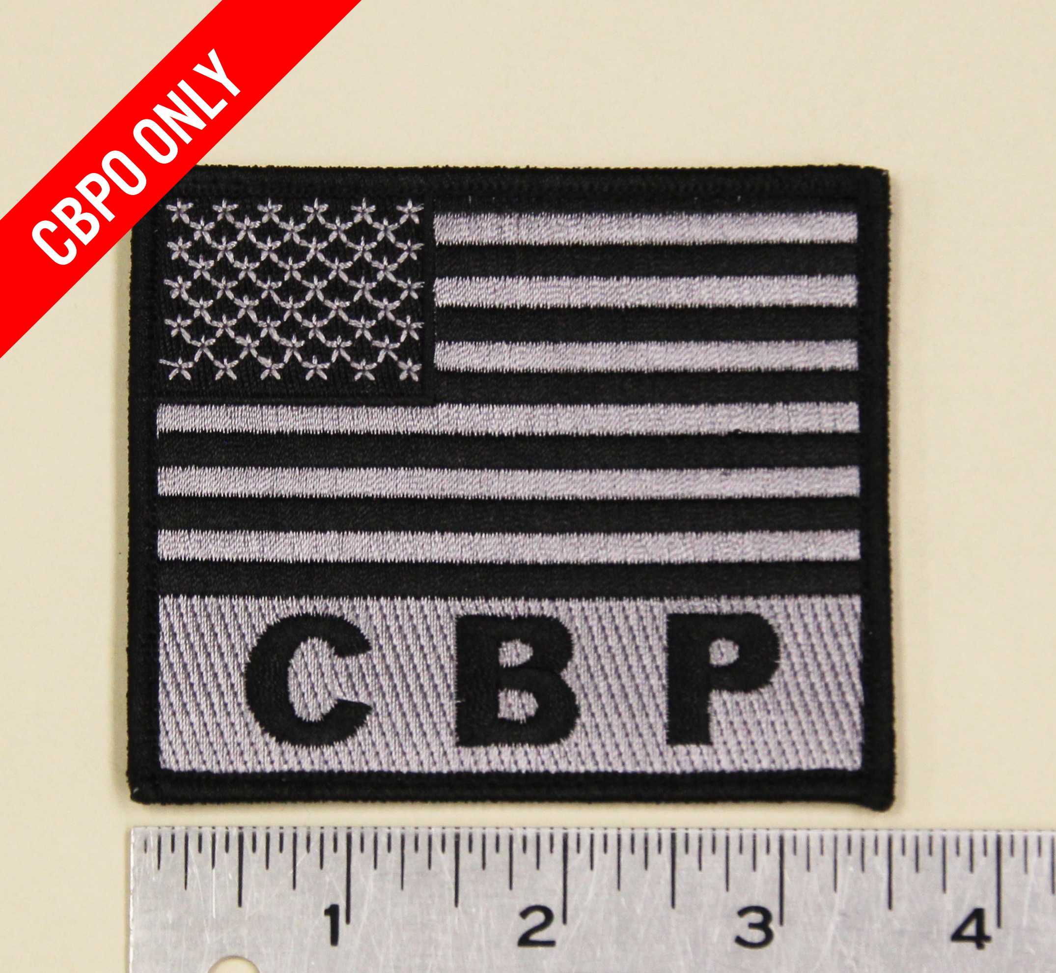 CBP Flag w/ Velcro-