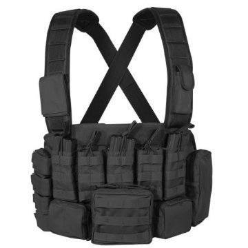 Tactical Chest Rig (Black)-Voodoo Tactical