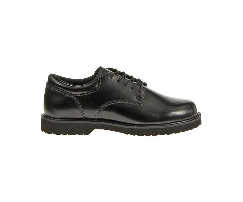 Bates High Shine Duty Oxford Black-Bates