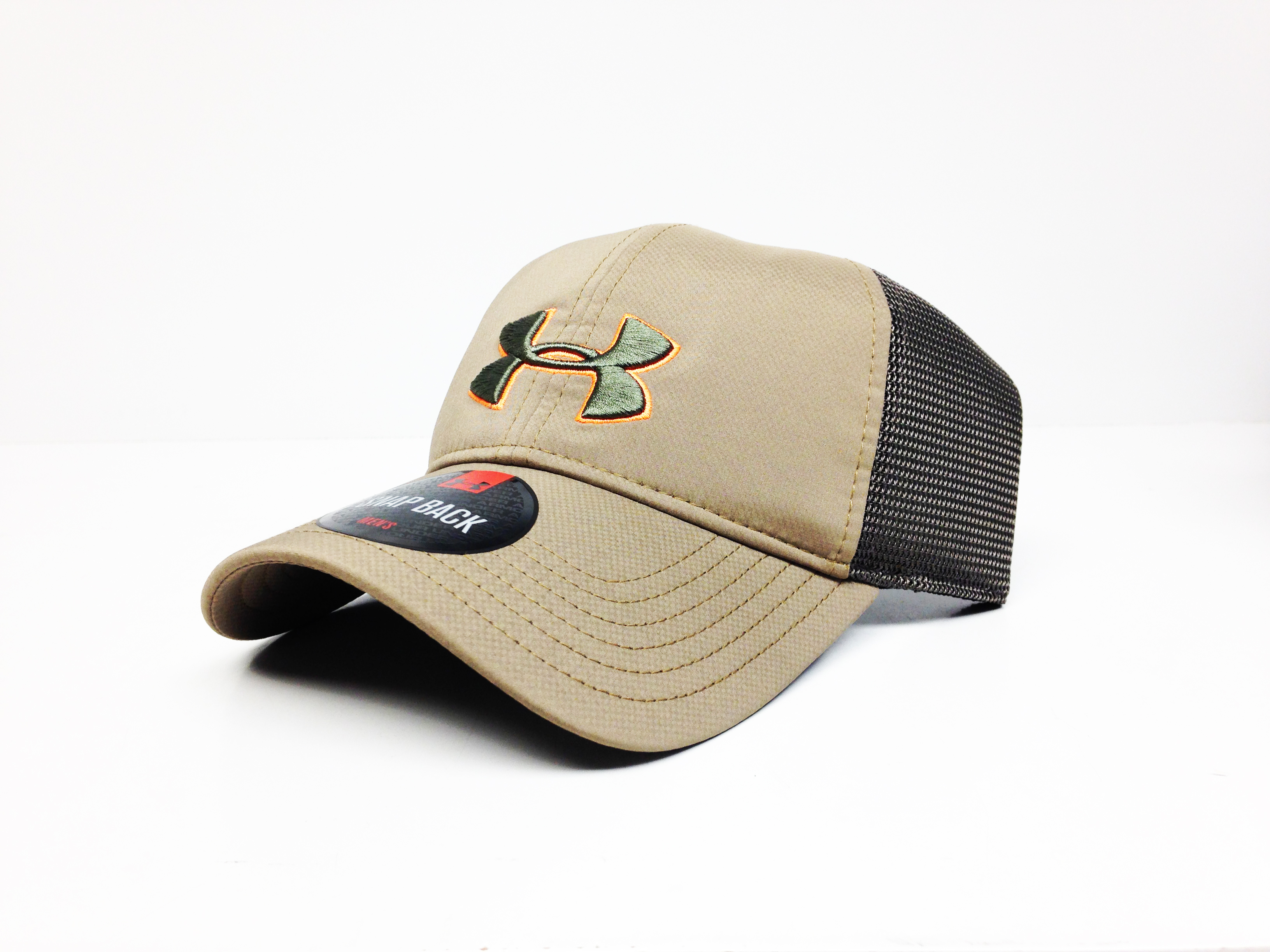 UA Classic Mesh Back Cap (Brown)-Under Armour