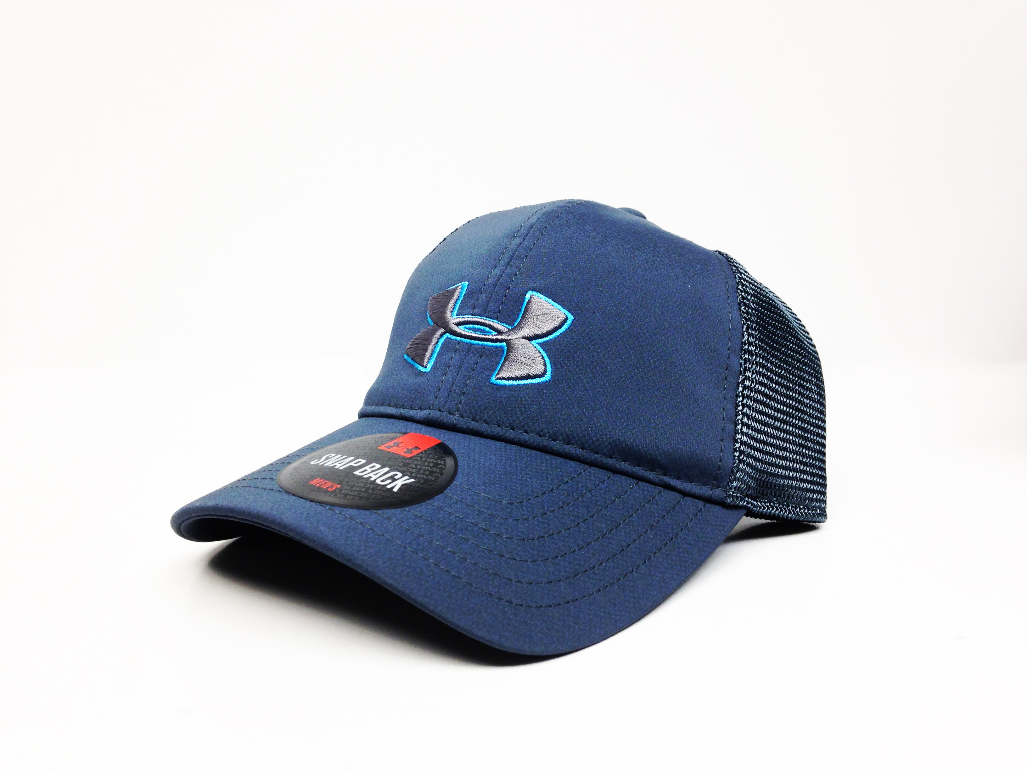 UA Classic Mesh Back Cap (Blue)-Under Armour
