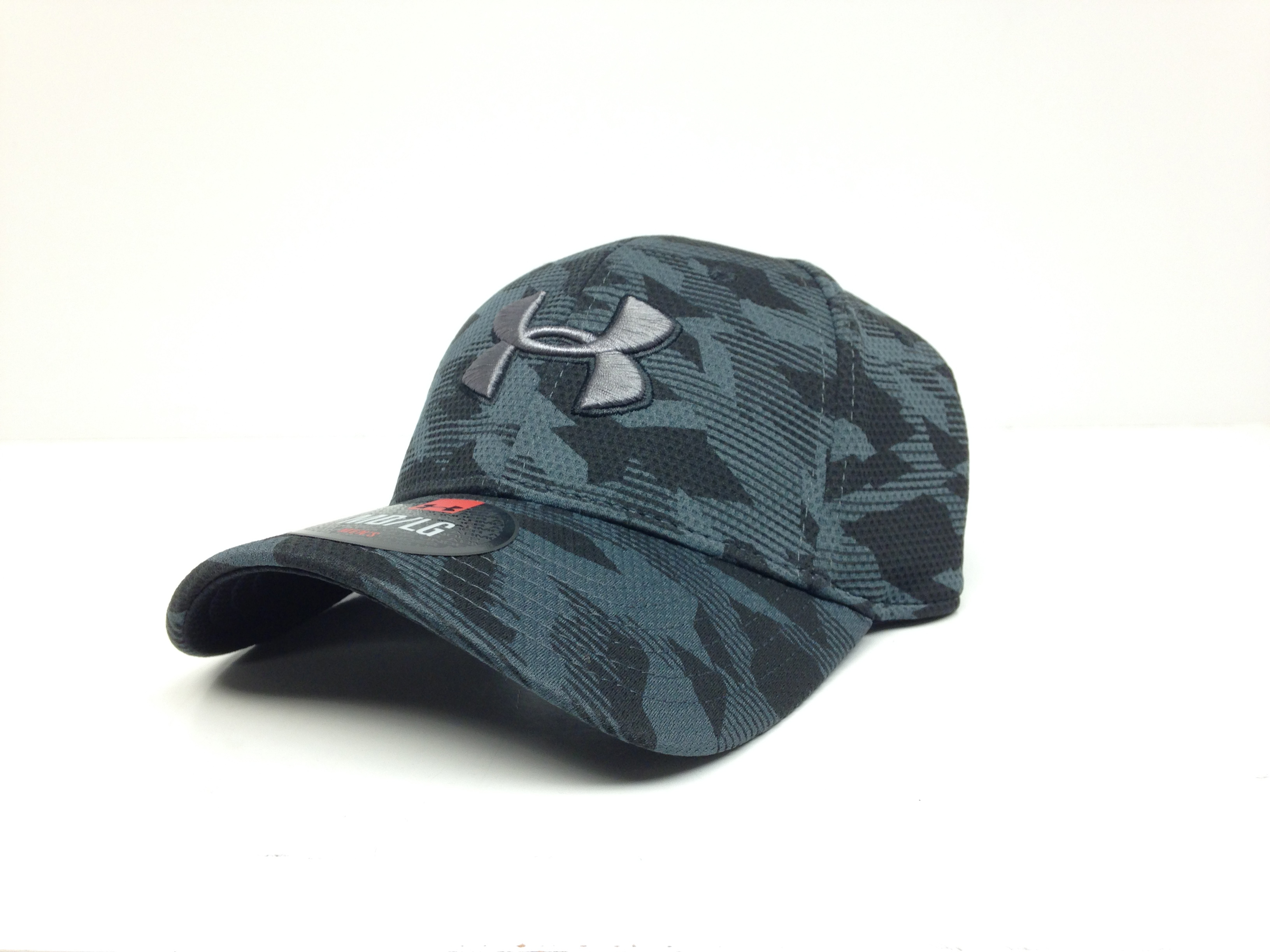 UA Golf Mesh Stretch 2.0 Cap (Blue camo)-Under Armour