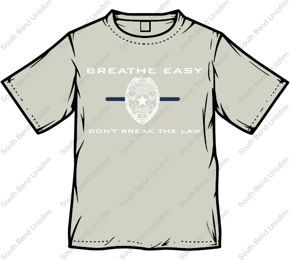Breathe Easy™ T-Shirt - Gray