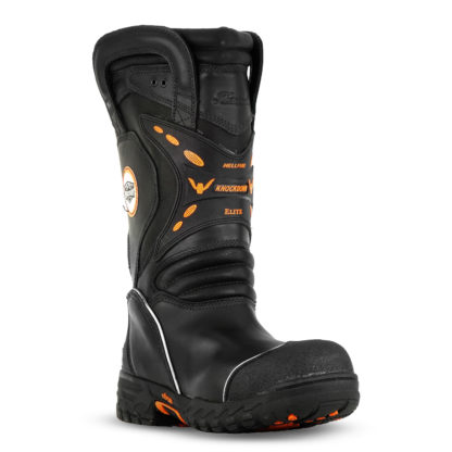 "KNOCKDOWN ELITE – MEN'S 14"" STRUCTURAL BUNKER BOOT-"