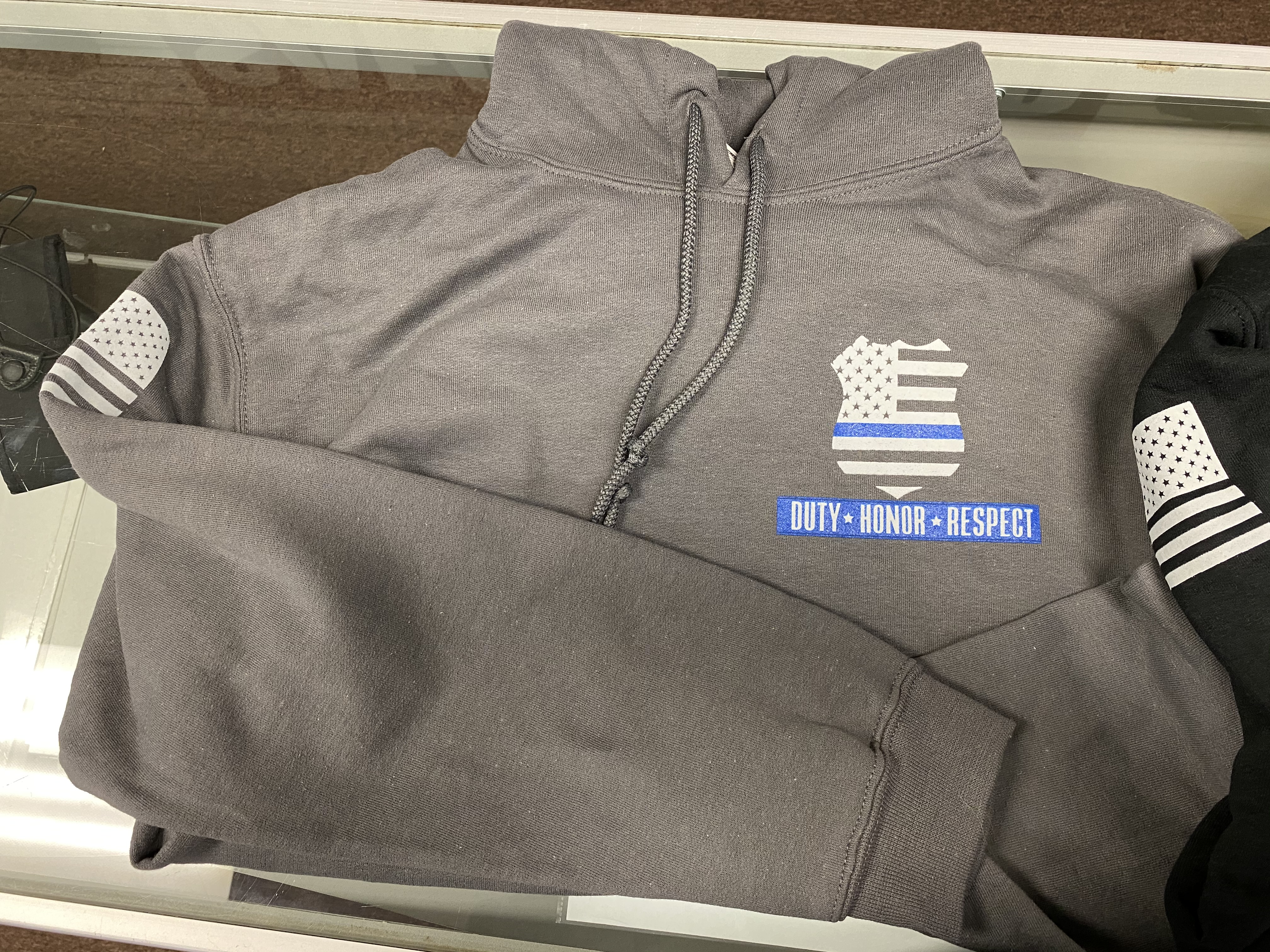 BACK THE BLUE HOODY-Turn Out Uniforms