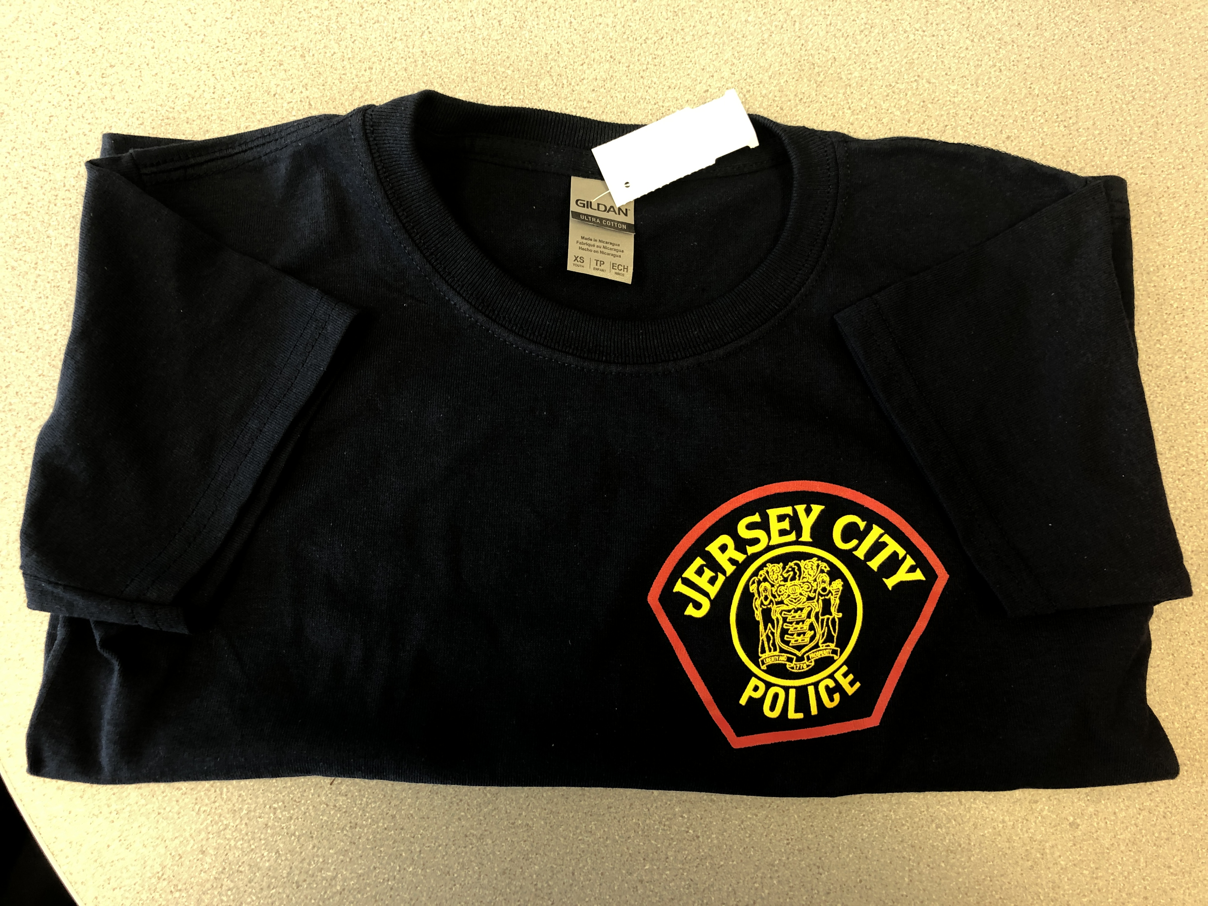 JERSEY CITY POLICE T-SHIRT-