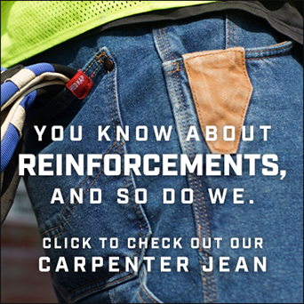 Carpenter Jean Reinforcements