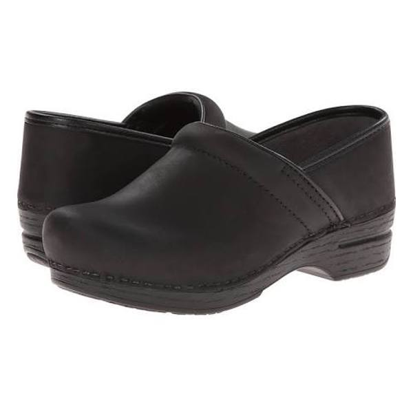 Dansko Professional Oiled Leather Clog - Black Oiled
