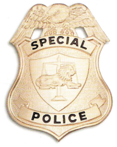 202 Special Police Shield breast or Cap badges-