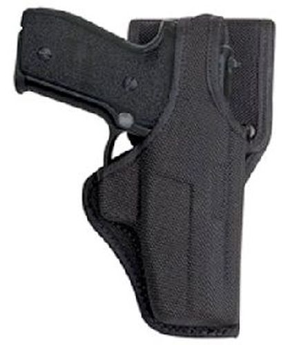 Vanguard duty holster, mid ride, black-Bianchi