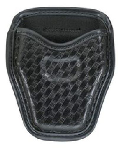 Open top cuff case, chain or hinge-