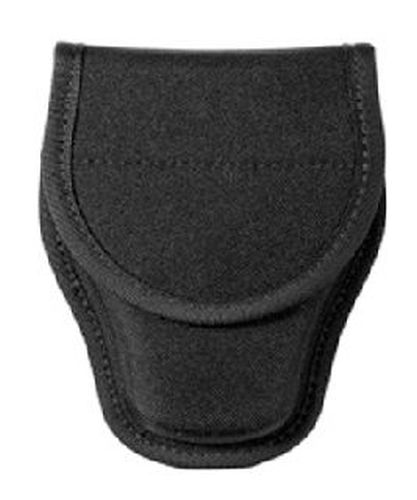 Covered handcuff case size 2, hidden snap-
