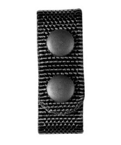 "Belt Keepers 1"" wide, black snaps (4 pack)-"