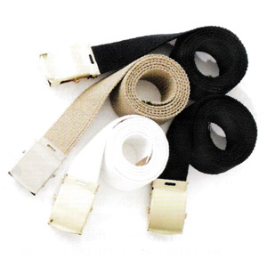 "54"" Cotton Belt/Gold Buckle-HWC Equipment"