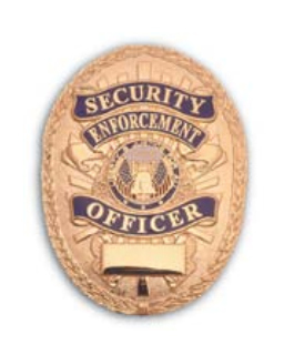 Oval Security Enforcement Officer-