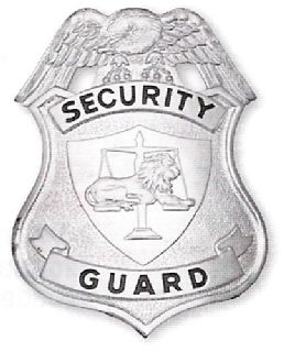 101 Shield Badges, Breast Or Cap-