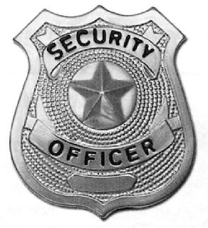 601 Star Center Badges, Nickel-