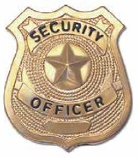 701 Star Center Badges, Gold-