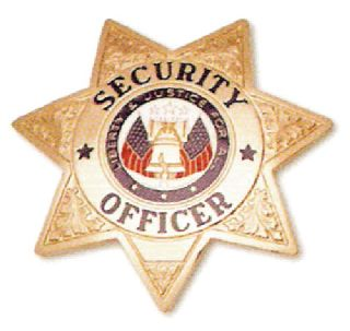 7 Pt. Star, Security Officer