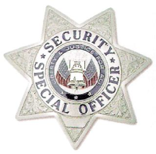 7 Pt. Star, Security Special Officer