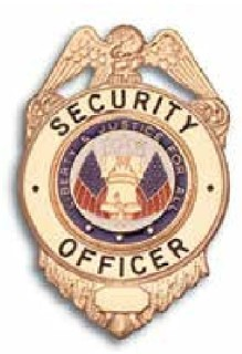 Security Guard, Nickel, Liberty & Justice Seal-