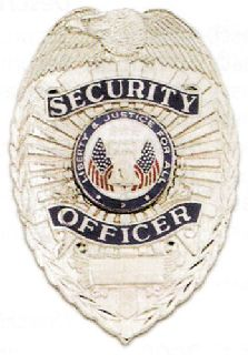 Security Officer, Liberty & Justice Seal