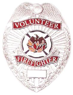 Shield, Volunteer Firefighter-