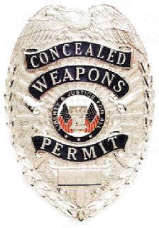 Concealed Weapons Permit-