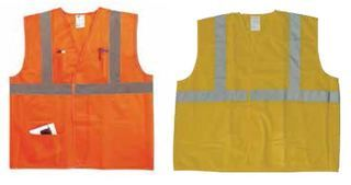 LG/XLG Ansi 2 orange vest/silver-Safety Flag