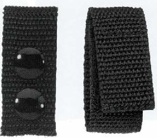 "1"" Wide Nylon Belt Keeper, Velcro-HWC Equipment"