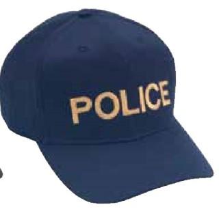Twill/Mesh On Navy, Police-