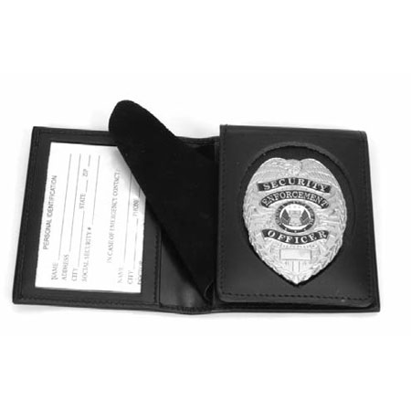 Removable Flip-Out Badge Case-