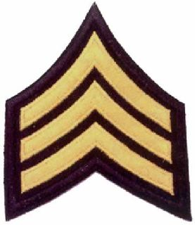 Sergeant Chevrons-