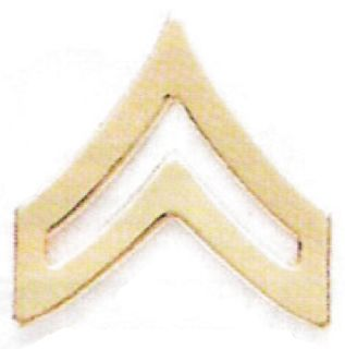 Corporal Chevron-HWC Equipment