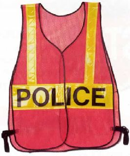 Orange Vest Crossing Guard-