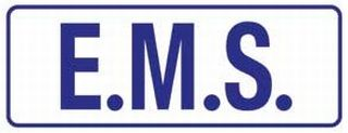 "E.M.S Patch 4""X 11""-HWC Equipment"