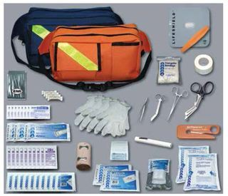 Trauma Pac Complete Kit, Navy Bag