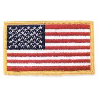 Rectangular Flag White Border-