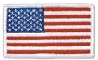 Reverse Flag, White Border-