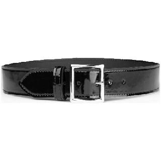 "Garrison Belt 1-3/4"" Black High Gloss-HWC Equipment"