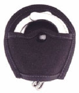 Snap out open cuff holder-