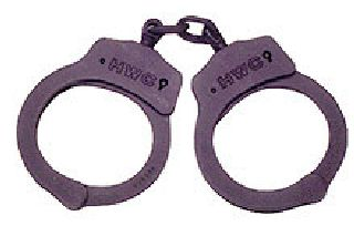 Nickel plated handcuffs-