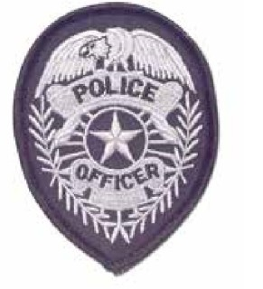 Police Officer Badge Patch-