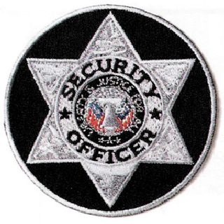 Round Badge Patch - Security Officer