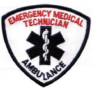 Emt Ambulance White/Blue/Red-