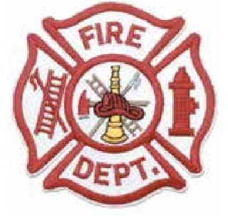 Fire Department, Red On White-