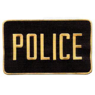 "Police Patch 5"" X 7-1/2""-"